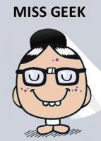 Portrait de Miss Geek